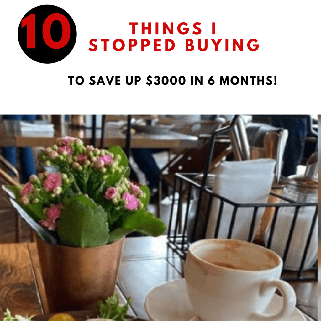 I Stop Spending Money On These 10 Things (saved me $3000 in 6 months)